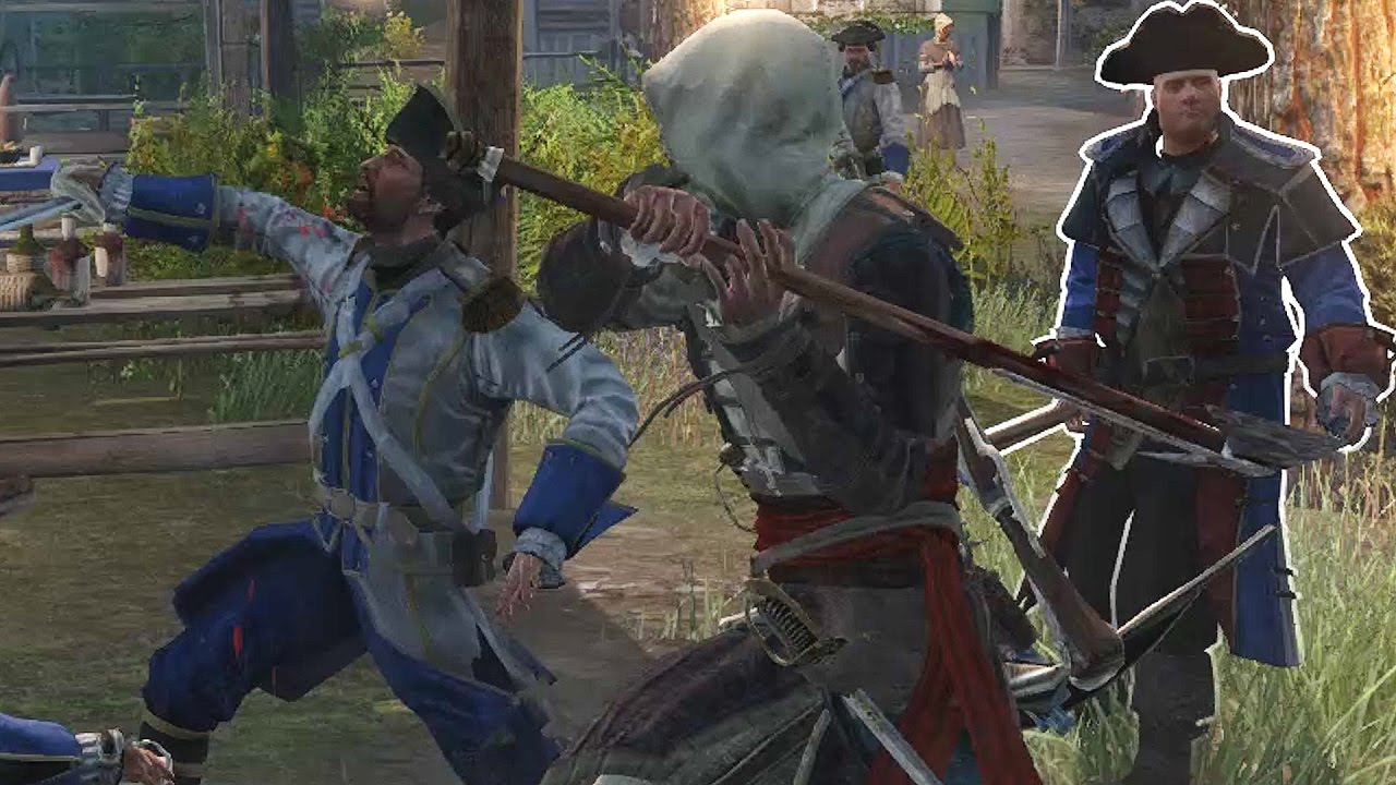 Assassin S Creed Rogue Edward Kenway Brutal Axe Kills Settlement