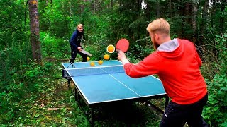 Ping Pong in a Forest I Pongfinity