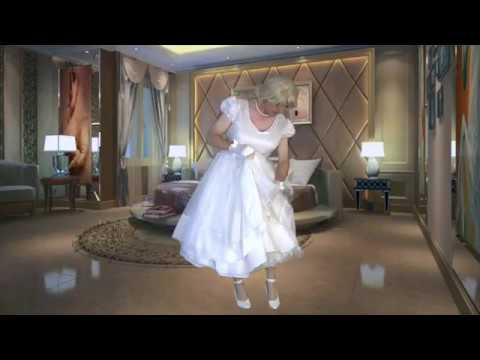 Transvestite putting on 1950's dating dress from YouTube · Duration:  3 minutes 59 seconds