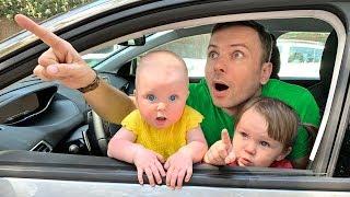 We are in the car Kids Song & Nursery Rhymes