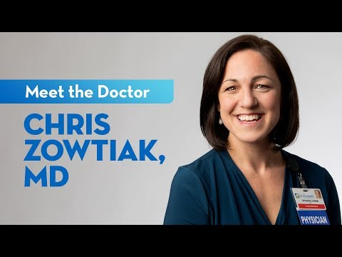 Meet Dr. Chris Zowtiak — Family Physician At St. Elizabeth