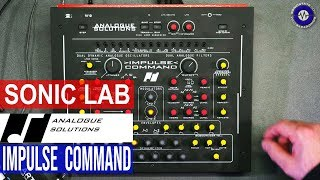 Sonic LAB: IMPULSE COMMAND Analogue Solutions synth