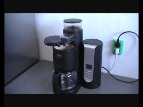 kaffeemaschine aeg kam 200 youtube. Black Bedroom Furniture Sets. Home Design Ideas