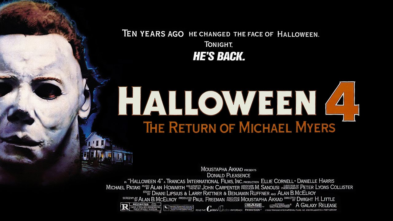 Halloween 4: The Return of Michael Myers (1988) Donald Pleasence ...