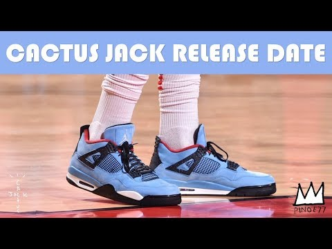 CACTUS JACK x JORDAN 4 RELEASE DATE, AIR JORDAN 1 HIGH OG BEST HAND IN THE GAME COLLECTION & MORE!!