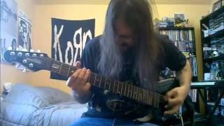 STRAPPING YOUNG LAD - Velvet Kervokian / All Hail The New Flesh - guitar cover - HQ