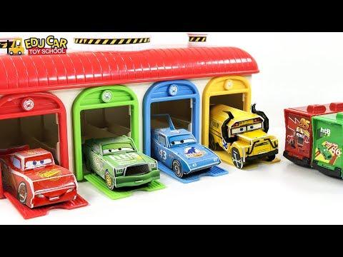 Disney Cars   Lightning McQueen paper origami play  Nursery Rhymes & Kids Songs