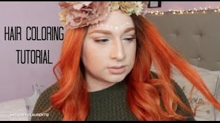 Hair Transformation (Bright Copper Tone) Before and after thumbnail