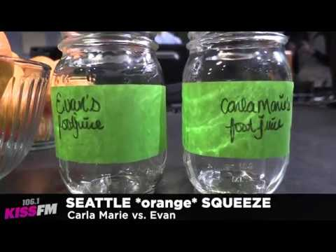 Carla Marie and Anthony - Carla Marie vs. Evan in the Seattle Squeeze