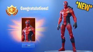 So i got Deadpool Skin In Fortnite Battle Royale doing dances...!!
