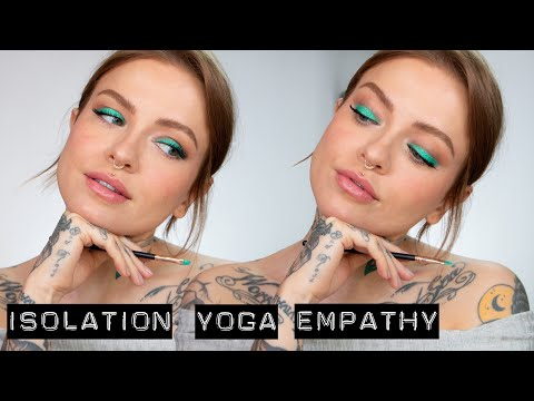 MENTAL HEALTH & MAKEUP | yoga, introverts & more... thumbnail