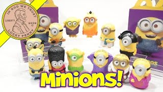 Minions Movie 2015 McDonald