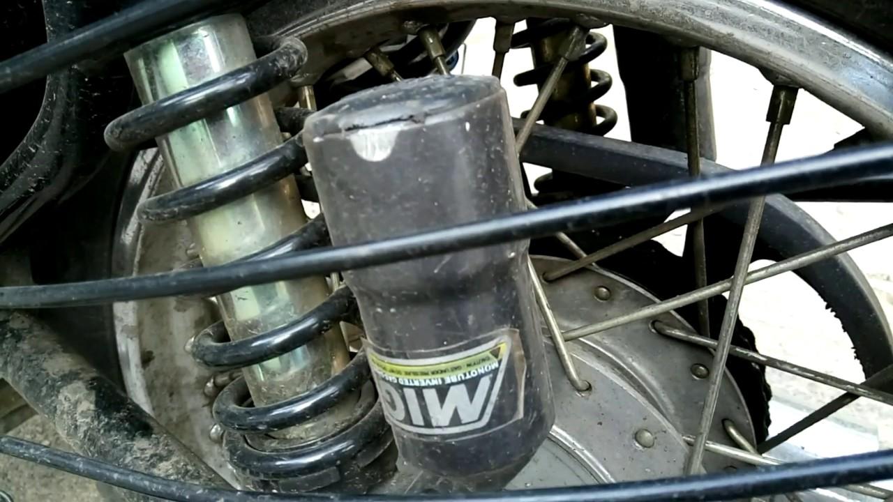 Royal enfield modification MIG suspension