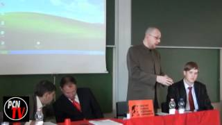 # PCN-TV BUDAPEST / LUC MICHEL SPEAKS ON IMPERIALISM OFFENSIVE IN 2011-2012
