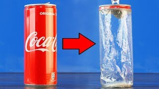Experiment: Coca Cola and Drain Cleaner