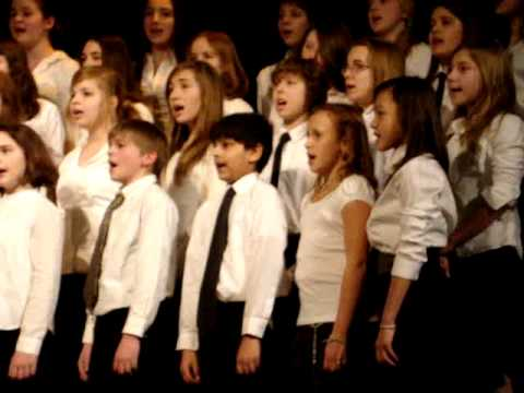 Middle School CEESA Choir Festival 2010 in International School of Prague - California Dreaming