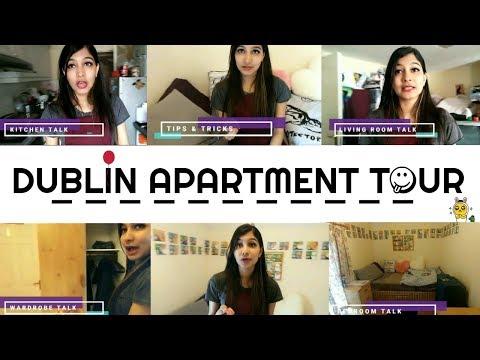 Dublin Apartment Tour | Tips & Tricks | €500 Apartment | Most Expensive Apartment I Rented |