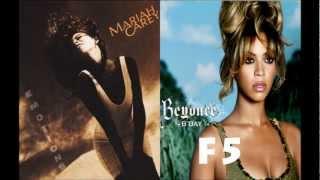 Video Mariah Carey Vs Beyoncé Knowles (Vocal Battle: Second Albums) download MP3, 3GP, MP4, WEBM, AVI, FLV Juli 2018