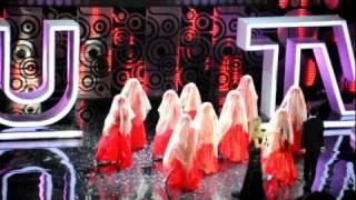 Премия RU.TV 2011. Dan Balan и Вера Брежнева - Лепестками слез