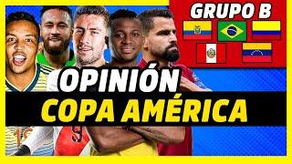 ANÁLISIS GRUPO B DE LA COPA AMÉRICA 2021 | MEJORES JUGADORES, PROMESAS, EXPECTATIVAS