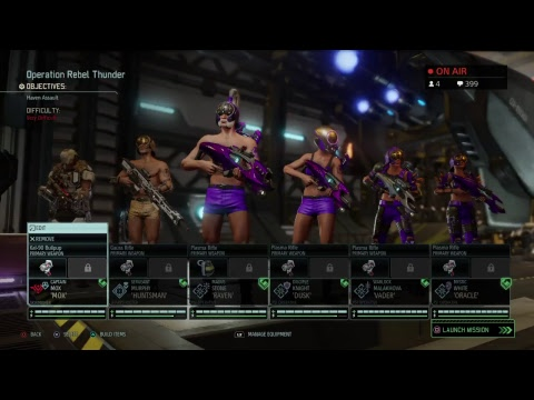Katmeister's XCOM2 War of the Chosen Chat Lounge04: Building Youtube Channel Creator Community