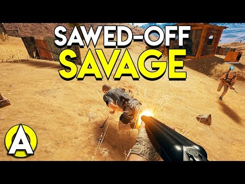 SAWED-OFF SAVAGE - PLAYERUNKNOWN'S BATTLEGROUNDS thumbnail