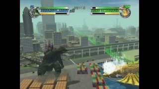 Godzilla: Destroy All Monsters Melee - Godzilla 2000 VS. King Ghidorah (XBOX)