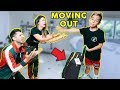 Telling My Parent's Im MOVING OUT PRANK *Bad Idea* | The Royalty Family