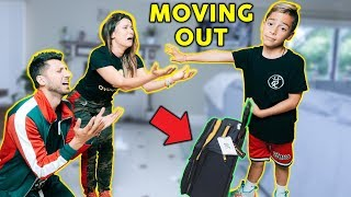 Telling My Parent&#39s Im MOVING OUT PRANK Bad Idea The Royalty Family