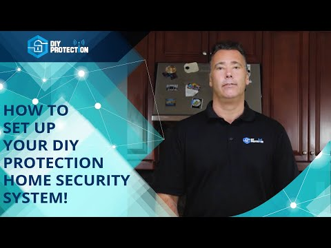 DIY Protection Home Security System Installation Tutorial