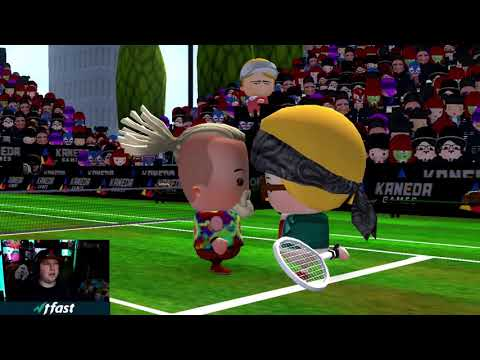 Smoots World Cup Tennis Nintendo Switch Gameplay |