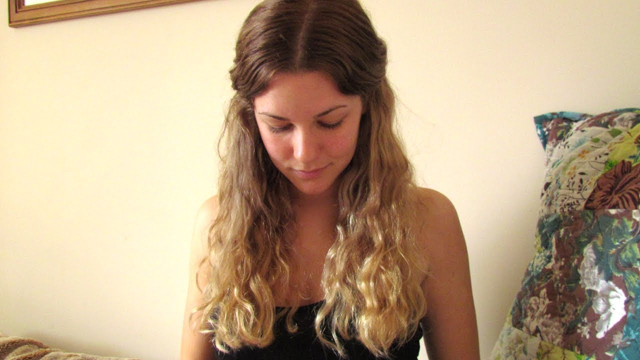 Diy Ombre Hair Tutorial And Results From Blonde Youtube