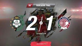 Reacciones Santos Vs Toluca Final Ida Clausura 2018