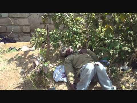 FIGHTING FOR LIVES in Kenya for Street Kids at Berur - December 2010