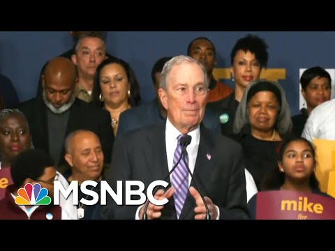 Dem Rivals Zero In On Michael Bloomberg As He Rises In The Polls | Velshi & Ruhle | MSNBC