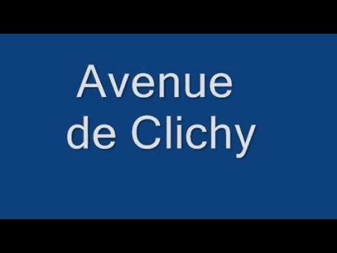 Avenue de Clichy Paris Arrondissements  17e, 18e
