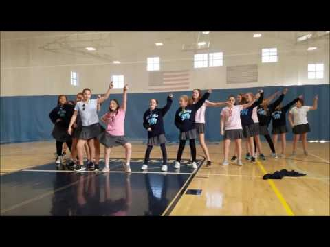 School of the Holy Child Middle School Dance Off - 2016