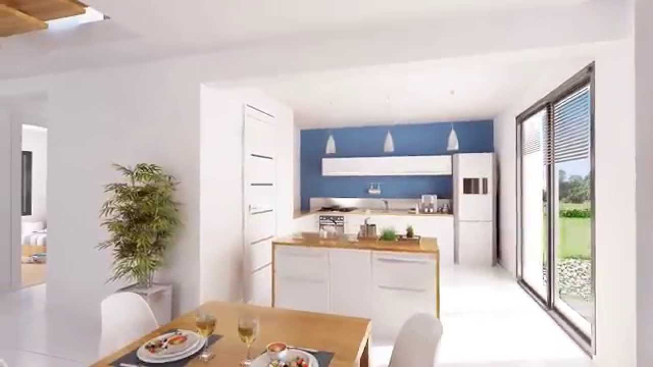 Visite virtuelle maison contemporaine - Maison Briot - YouTube