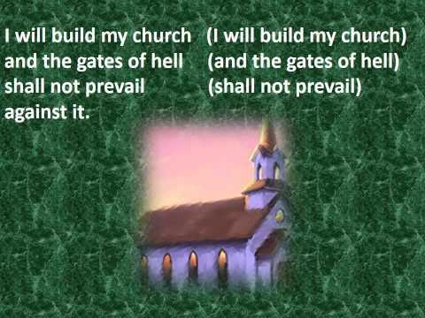 504 I WILL BUILD MY CHURCH - KARAOKE