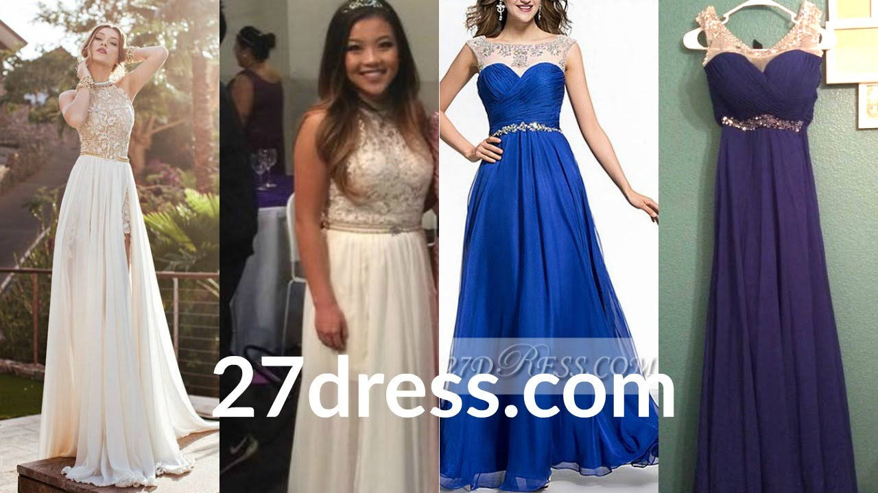 "Chinese PROM Dresses ""Review"" - 27dress.com - YouTube"
