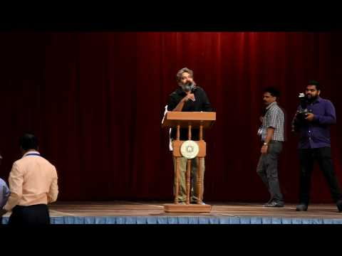 S.S Rajamouli Sir (Director of Bahubali) @ christ junior college