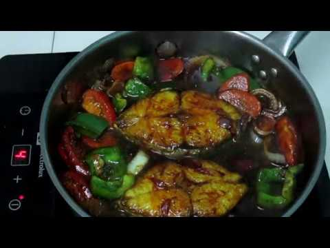 FISH IN SOY SAUCE or IKAN MASAK KICAP  Malaysian version No; 91