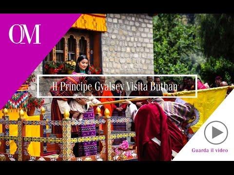 OMG4 - OM - Glamour Shuttle - Bhutan - il Principe Gyalsey Visita Bhutan