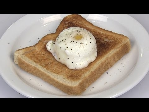 NO Fail Microwave Perfect Poached Egg Recipe