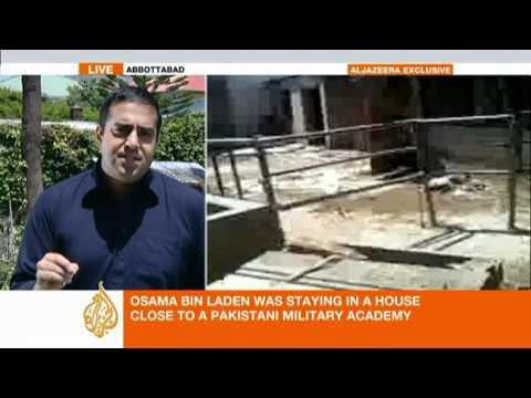 Footage of bin Laden's compound