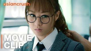 Nerdy guy sticks up for girl getting harassed on the bus | Clip from 'Loser Hero'