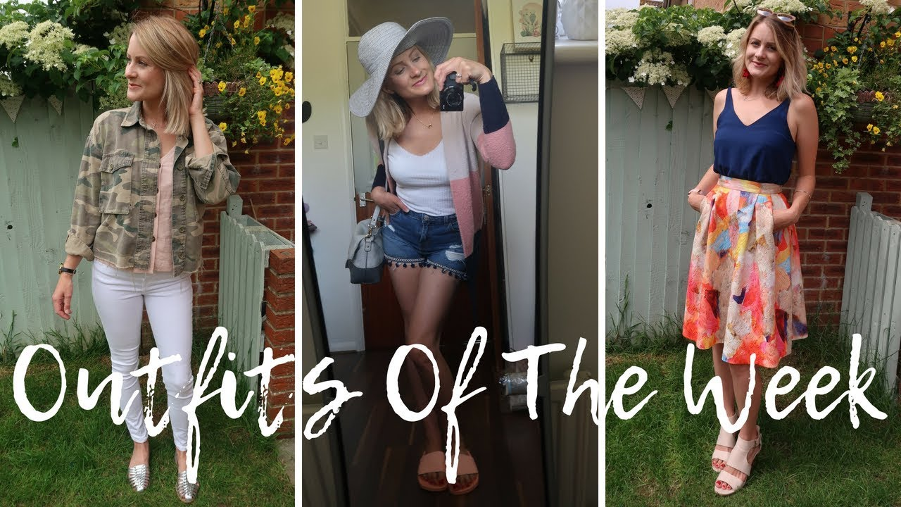 [VIDEO] - Outfits Of The Week | Summer Style Lookbook 2018 2