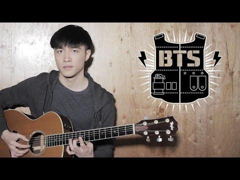 BTS (V x Rap Monster) - '4 O'Clock (네시)' Guitar Cover