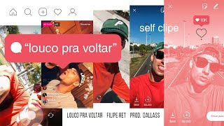 Filipe Ret - Louco Pra Voltar [Self Clipe]