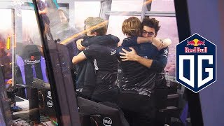 FINAL MOMENTS WITH ANA IO CARRY + TI9 OG WINNERS CEREMONY - FIRST TIME 2x TI CHAMPIONS IN DOTA 2